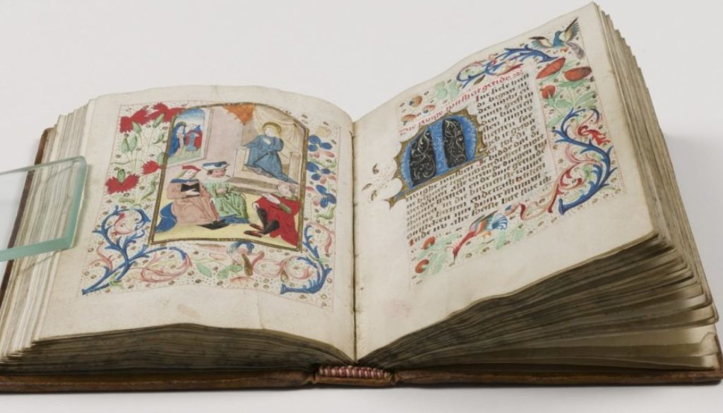 Book of Hours restored