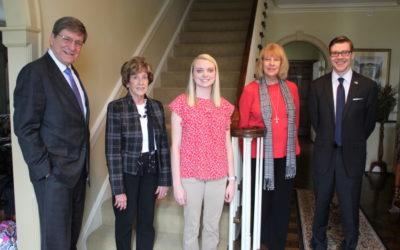 President Greiner and Collegiate Alumnae 1