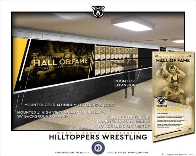 WL Wrestling HOF Hallway
